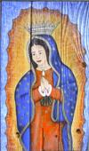 Our Lady of Guadalupe by Paulette Allen
