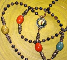 5 Decade Rosary, Catholic, Christian, prayer beads