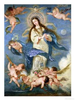 Virgin Mary, Immaculate Conception, Catholic, Christian